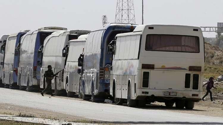 الدفاع الروسية: إخراج أكثر من 114 ألف شخص من الغوطة الشرقية
