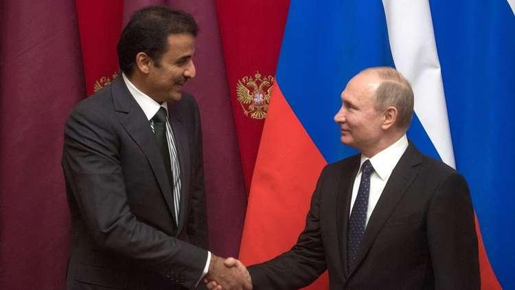 أمير قطر حول لقائه بوتين: نجاح ودفعة جديدة
