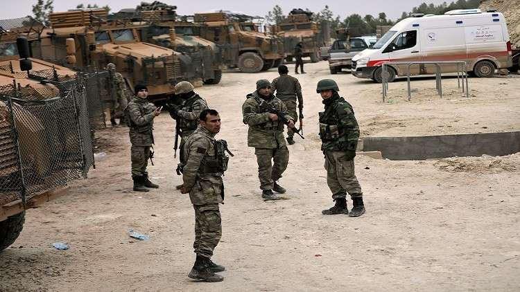مقتل جنديين تركيين بانفجار عبوة ناسفة في عفرين