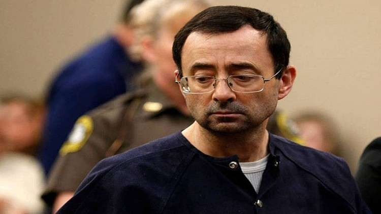 الولايات المتحدة.. السجن 175 عاما لمرتكب انتهاكات جنسية بحق 160 لاعبة جمباز