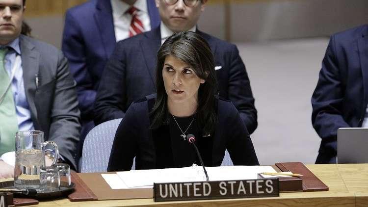 هايلي تتهم سوريا وروسيا بـ