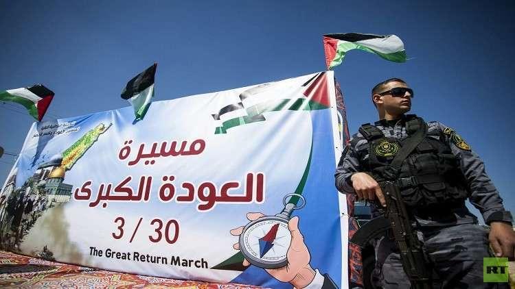 الفلسطينيون يتجهزون لمسيرة العودة الكبرى .. اختبار حقيقي لإسرائيل