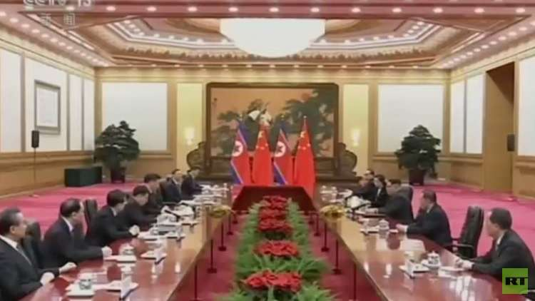 كيم جونغ أون يغادر بكين بعد أولى زياراته الخارجية