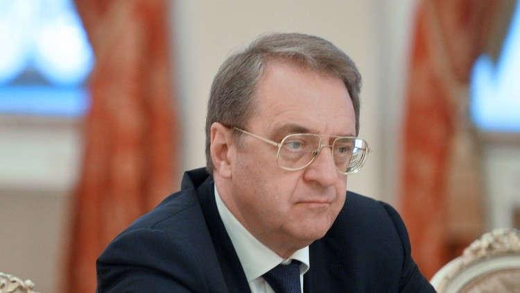 بوغدانوف يبحث مع سفير سلطنة عمان الوضع في سوريا والمنطقة