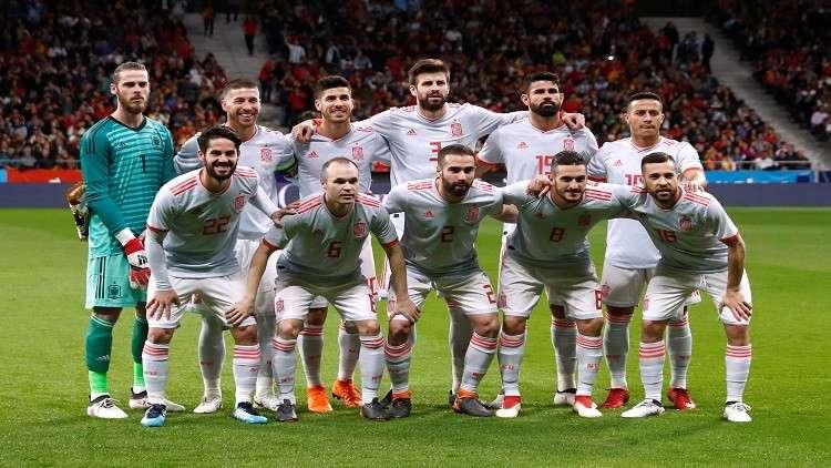 سداسية إسبانيا تحل عقدة بيكيه مع جماهير مدريد