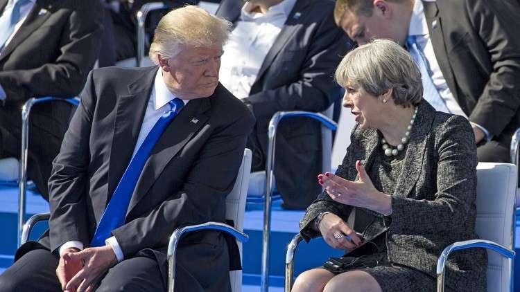 في اتصال مع ترامب.. ماي ترحب بطرده دبلوماسيين روس