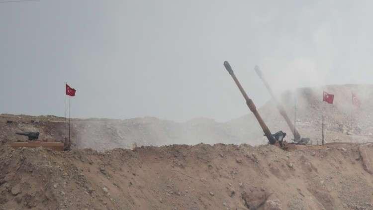 الأكراد يهاجمون الجيشين التركي والحر شمالي سوريا