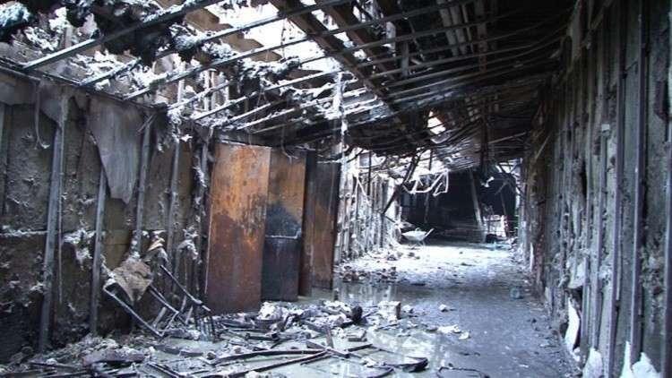 عمدة ريغا يعلن عن مساعدات لضحايا حريق كيميروفو