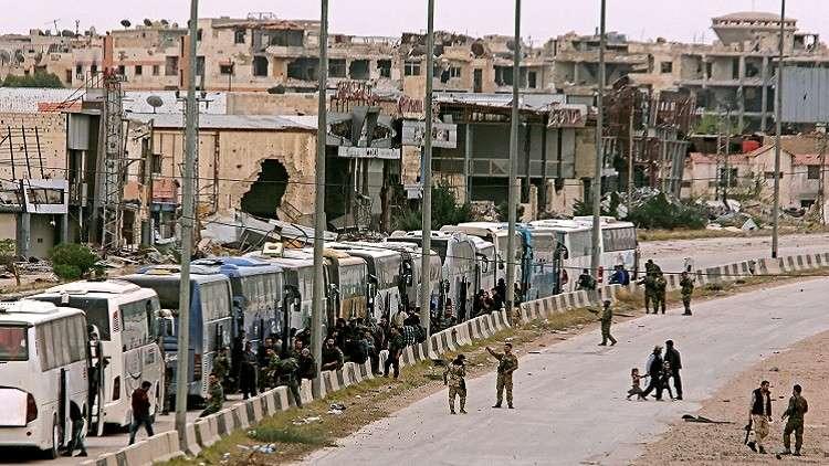 موسكو: عملية تحرير الغوطة الشرقية تشارف على الانتهاء