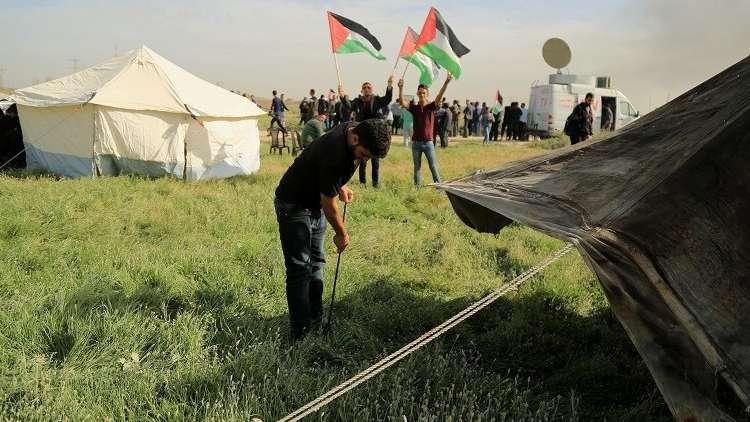 عشية مسيرات العودة الكبرى غدا الجمعة.. إسرائيل تتوعد