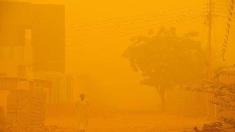 حادث سير جماعي على طريق مكة - جدة بسبب الغبار