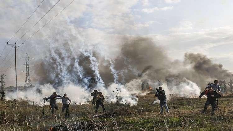 في ذكرى يوم الأرض.. مقتل فلسطيني في غزة بقذيفة إسرائيلية