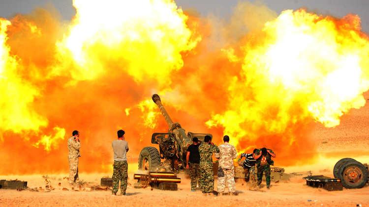 الولايات المتحدة تقصف مباشرة قوات الأسد في سوريا