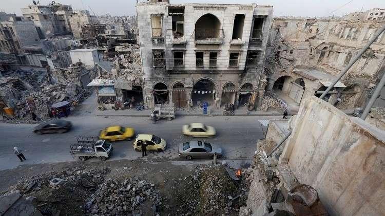 اكتشاف مكان مجزرة في مدينة حلب السورية