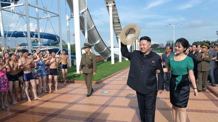 زوجة الزعيم الكوري الشمالي تستنسخ أزياء أميرة أوروبية