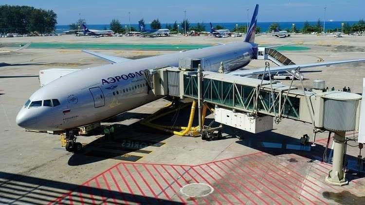 الأمن البريطاني بحث عن مواد محظورة داخل الطائرة الروسية