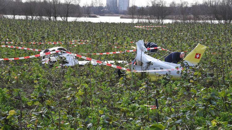 مصرع شخصين بتحطم طائرة في فرنسا