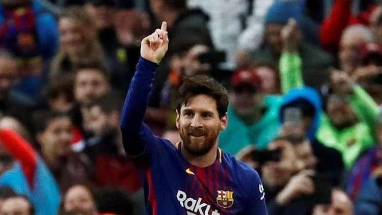 برشلونة يتجنب الخسارة الأولى بفضل ميسي