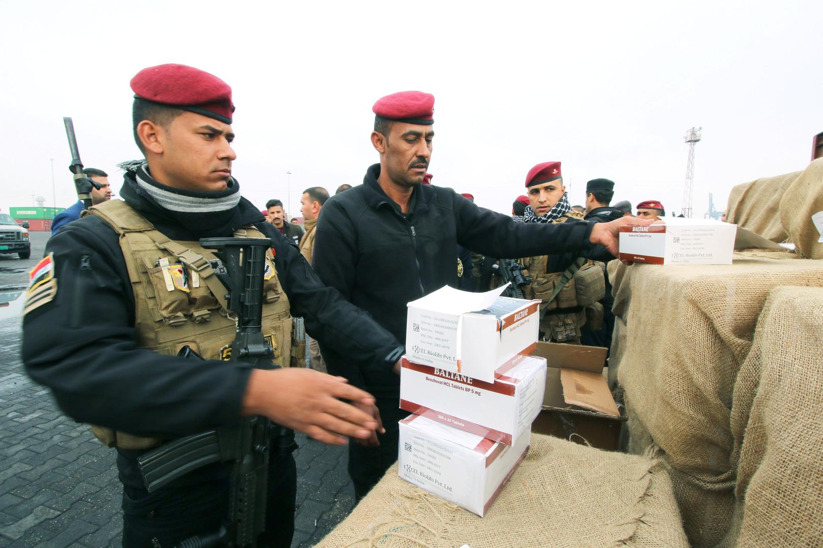ابتكار أسلوب إجرامي لتهريب المخدرات بين العراق وإيران