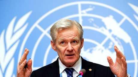يان إيغلاند مستشار المبعوث الأممي الخاص إلى سوريا