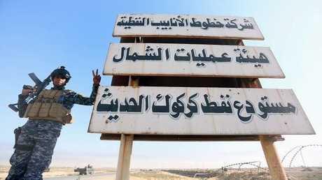 حقول نفطكركوك شمال العراق - أرشيف