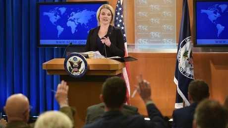 المتحدثة باسم وزارة الخارجية الأمريكية هيذر ناورت