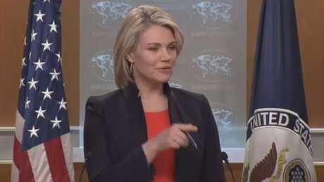 المتحدثة باسم الخارجية الأمريكية هيذر نويرت