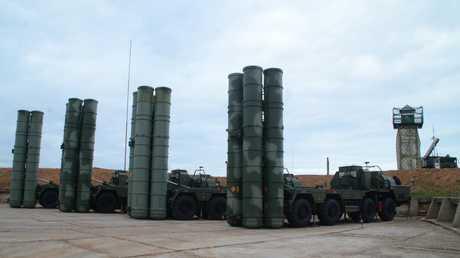 """منظومات """"إس-400"""" الصاروخية الروسية"""