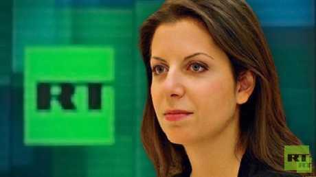 رئيسة تحرير شبكة قنوات RT التلفزيونية، مارغريتا سيمونيان