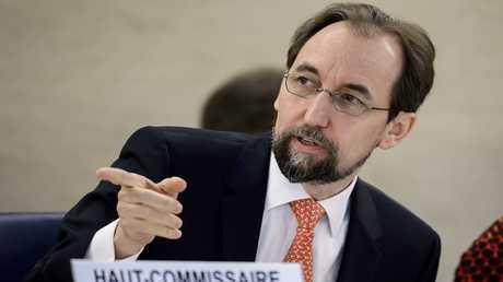 المفوض السامي لحقوق الإنسان للأمم المتحدة، زيد بن رعد الحسين