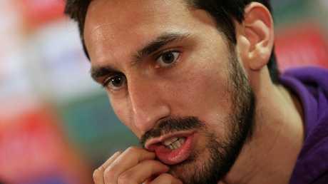 قائد فريق فيورينتينا الإيطالي لكرة القدم دافيد آستوري