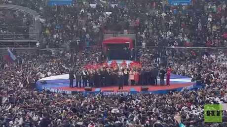 بوتين يعد الناخبين بانتصارات مشرفة