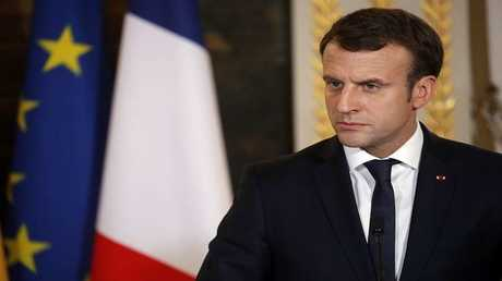 الرئيس الفرنسي، إيمانويل ماكرون