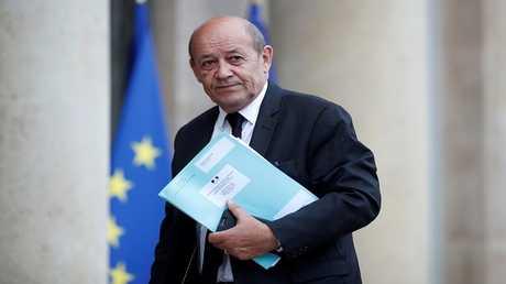 وزير الخارجية الفرنسي، جان إيف لو دريان