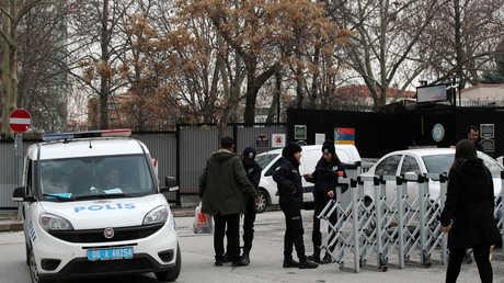 انتشار أمني في محيط السفارة الأمريكية بأنقرة