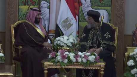 محمد بن سلمان يدعو البابا تواضروس لزيارة السعودية