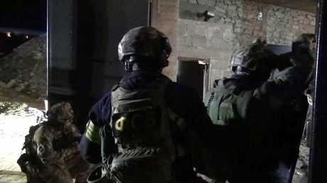 قوات تابعة للأمن الروسي -صورة أرشيفية