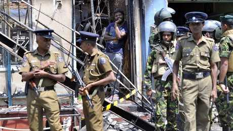 آثار الالضطرابات في سريلانكا