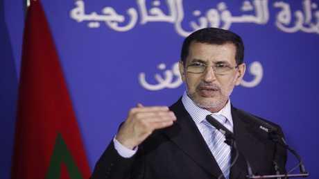 أمين عام حزب العدالة والتنمية في المغرب سعد الدين العثماني
