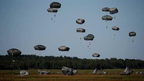 مناورات حلف الناتو في بولندا، يونيو 2016