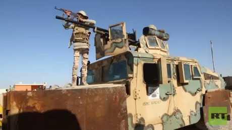 الجيش العراقي يمشط منطقة الحدود مع سوريا