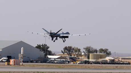 طائرة بدون طيار أمريكية في أفغانستان