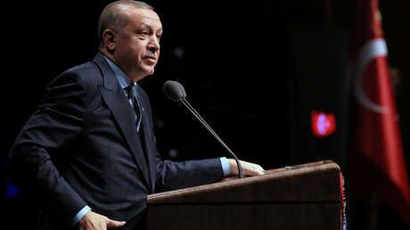 الرئيس التركي، رجب طييب أردوغان