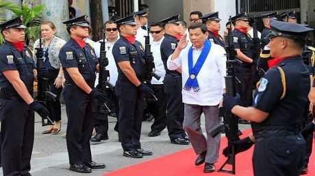رئيس الفلبين رودريغو دوتيرتي