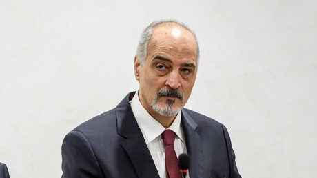 مندوب سوريا الدائم لدى الأمم المتحدة بشار الجعفري