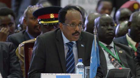 الرئيس الصومالي، محمد عبد الله فرماجو