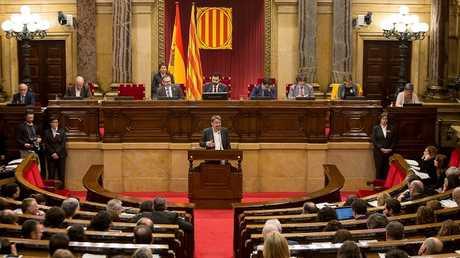 برلمان إقليم كتالونيا الإسباني