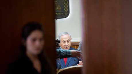 بنيامين نتنياهو يحضر اجتماعا للمجلس الوزاري