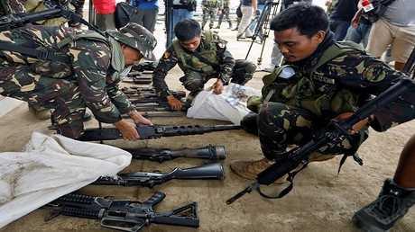 عناصر من جيش الفلبين