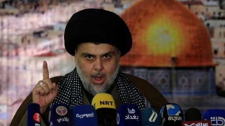 زعيم التيار الصدري ورجل الدين الشيعي العراقي، مقتدى الصدر